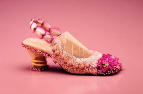 wedding flower sandal