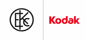 Kodak logo old vs new