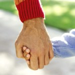 hold child hand