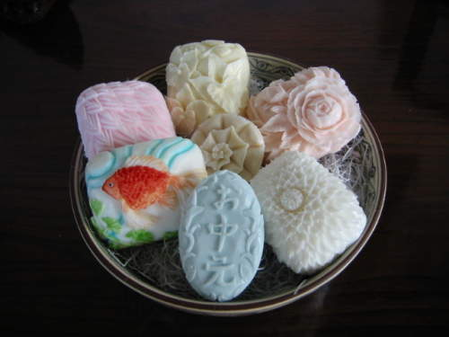art on soap