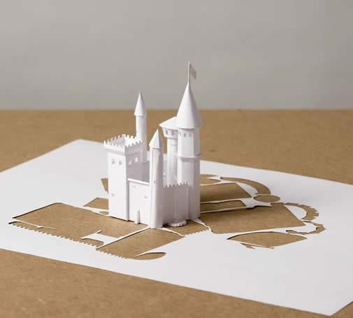 one piece paper art