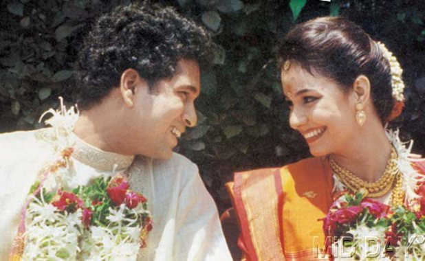 sachin marriage