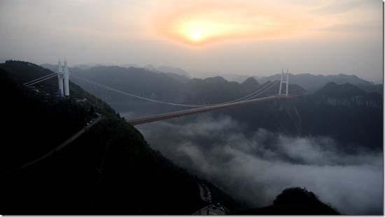 aizhai suspension bridge