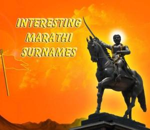 interesting marathi surnames