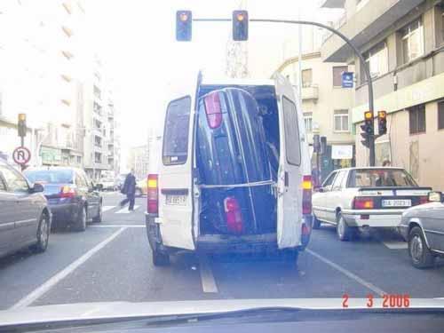 Funny car transportation
