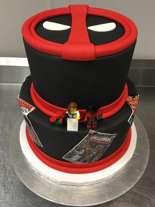 Grooms   Sports Occasion Cakes   Wonderful Wedding Cakes   Long     Deadpool Grooms Cake   Grooms   Sports   88