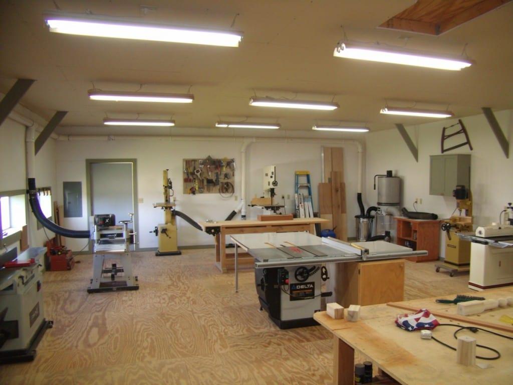 Building A Workshop Wonderful Woodworking