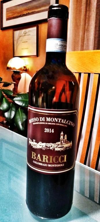 Baricci - Rosso di Montalcino 2014