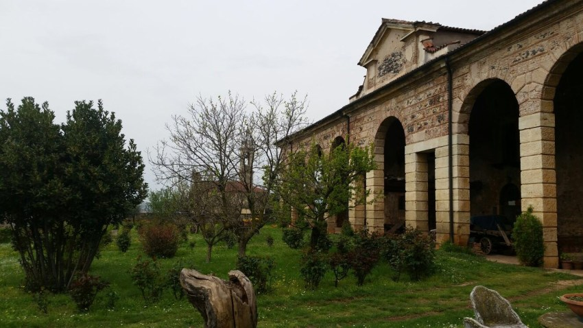 Villa Favorita - giardino interno