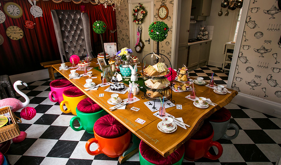 Wonderland House Dining Room