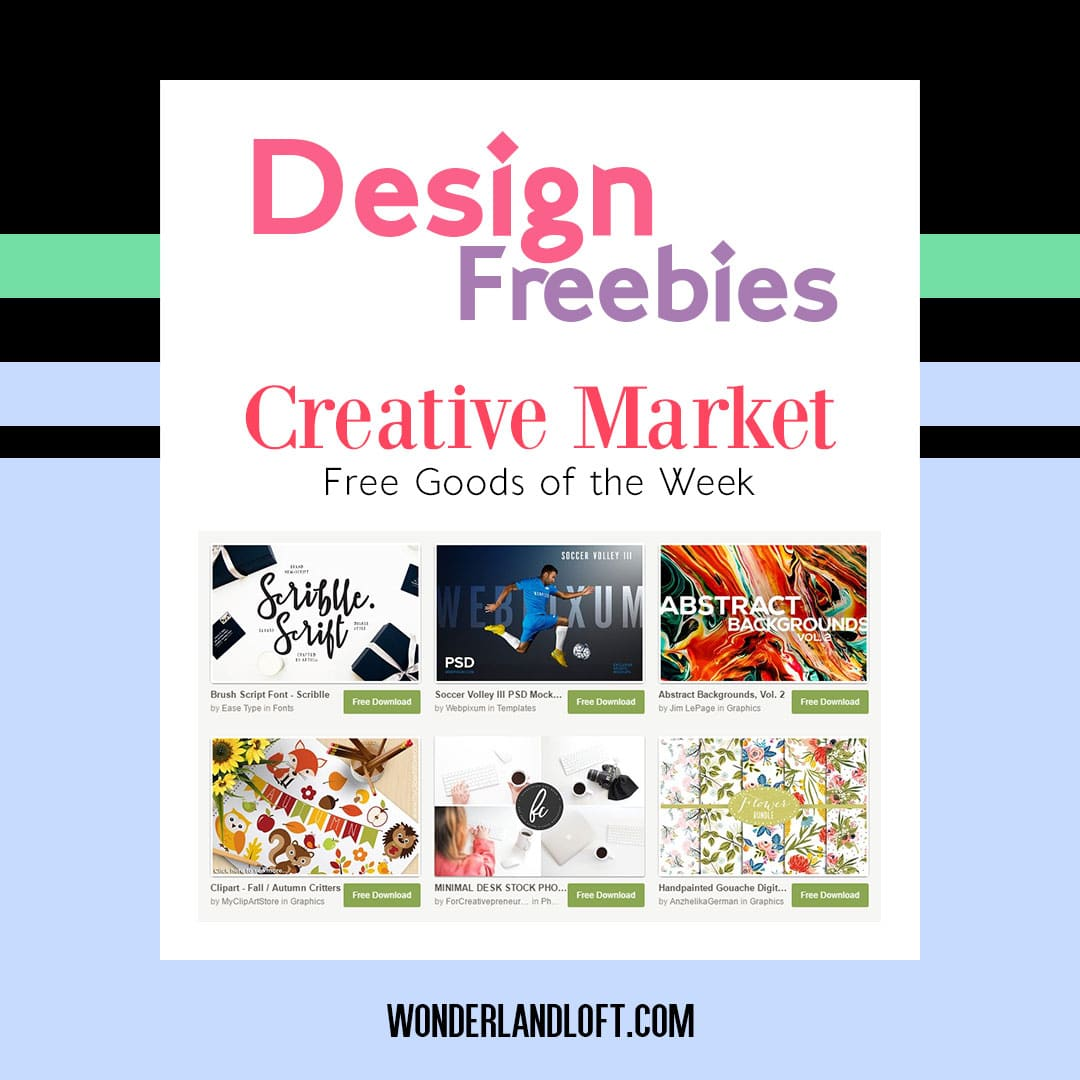 Creative Market Free Goods - September 5th