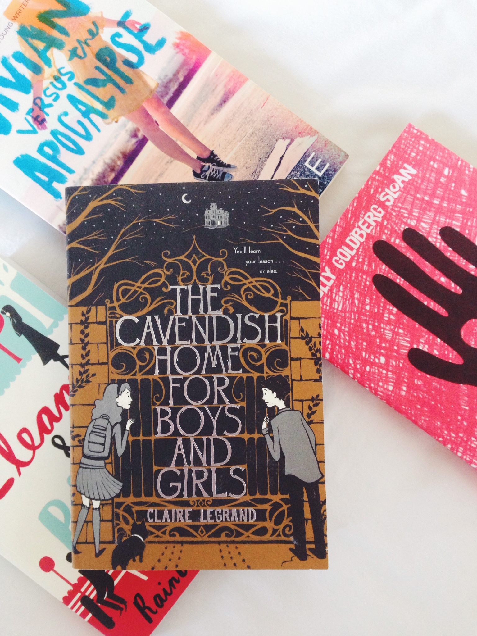 the cavendish home for boys and At the cavendish home for boys and girls, you will definitely learn your lesson a dark, timeless, and heartfelt novel for fans of coraline and the mysterious.