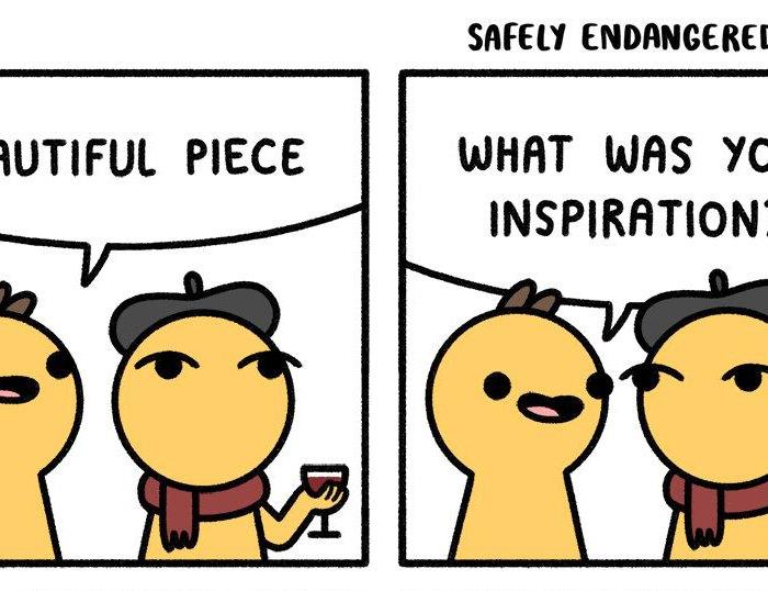 Art Inspiration Safely Endangered