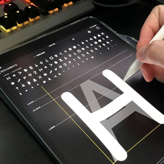 Creating a Font
