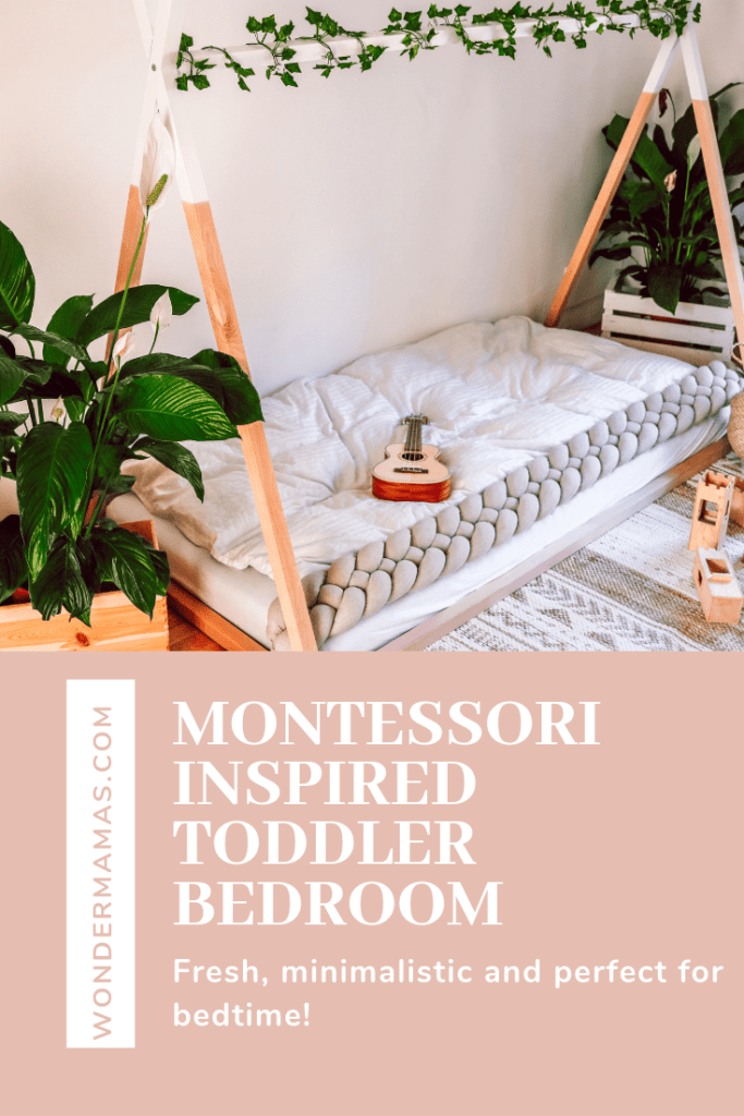 Montessori inspired bedroom