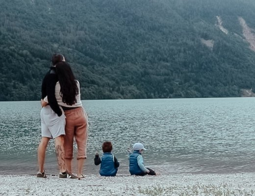camping adventure with children