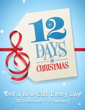 12 Days of Christmas App Apple
