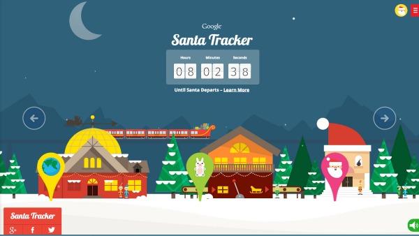 Track Santa's Journey Using Tech! on santa satan, santa posters, santa visit, baseball map tracker, santa schedule, santa home,