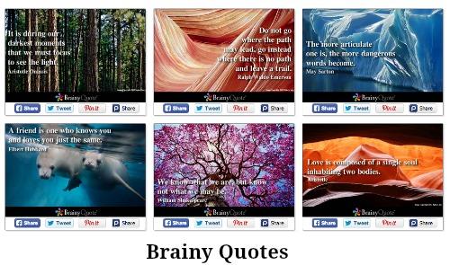 Brainy Quote Images