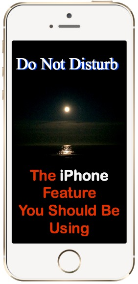 iPhone Do Not Disturb