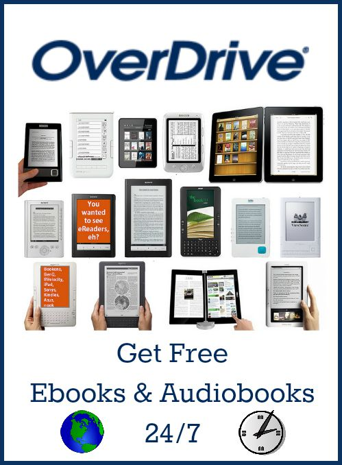 OverDrive Library Ebooks Audiobooks