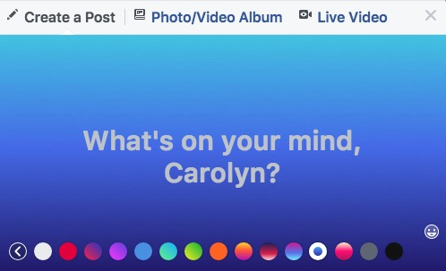 How to Add Color to Your Facebook Posts and Get the Rainbow