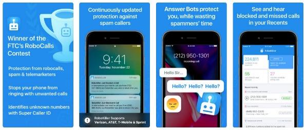 Robokiller Call Blocker App