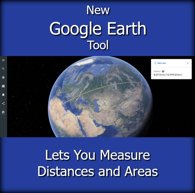 Google Earth Measure Distance Area