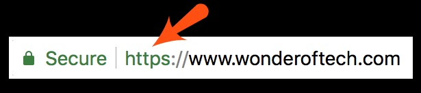 Wonder of Tech secure website