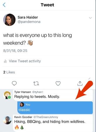 Twitter Testing Threaded Conversations