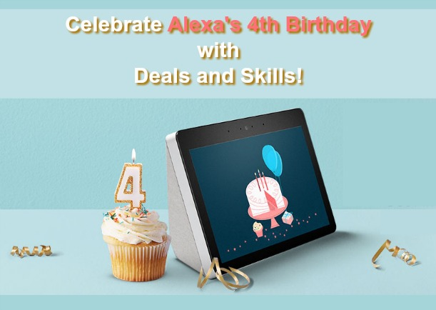 Alexa 4th Birthday Celebration Amazon