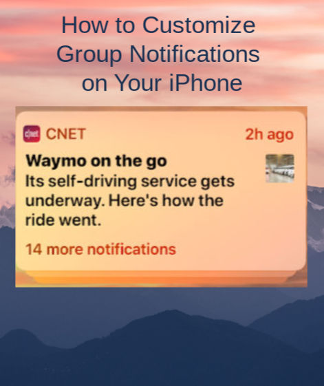 How to Customize Group Notifications on Your iPhone