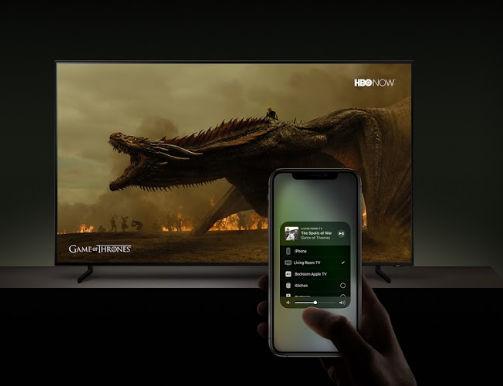 Apple AirPlay Samsung TV