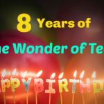 Happy 8th Anniversary to The Wonder of Tech!