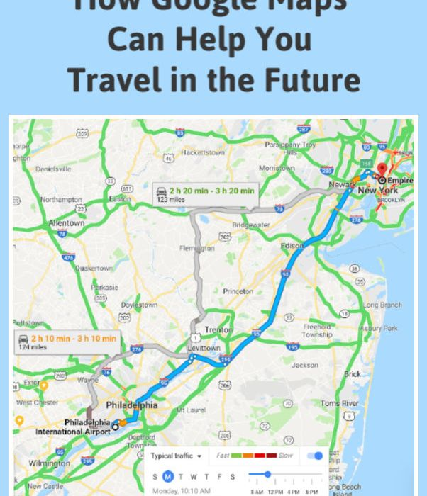 Future Travel Google Maps