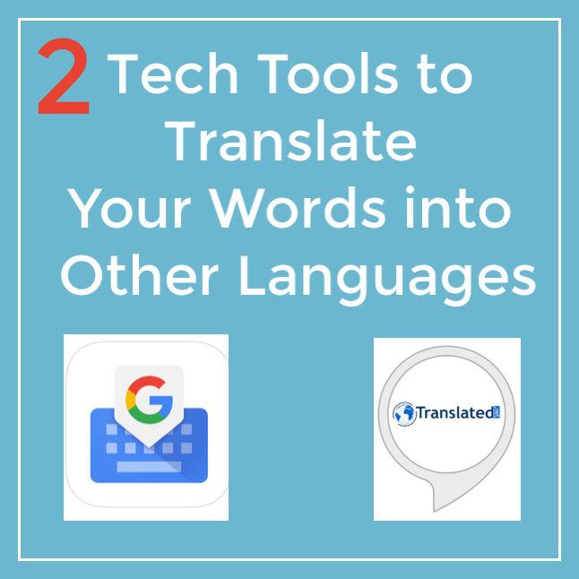 Gboard Alexa Translation Tools