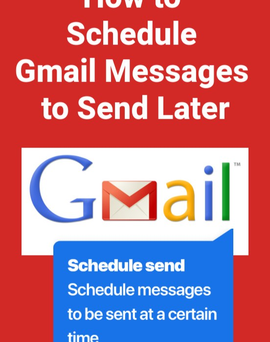 Gmail Schedule Send How to