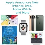 Apple Announces New iPhones, iPad, Apple Watch and More