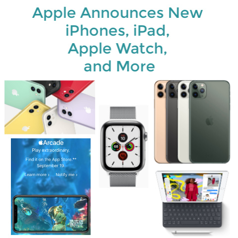 Apple Announces New iPhones