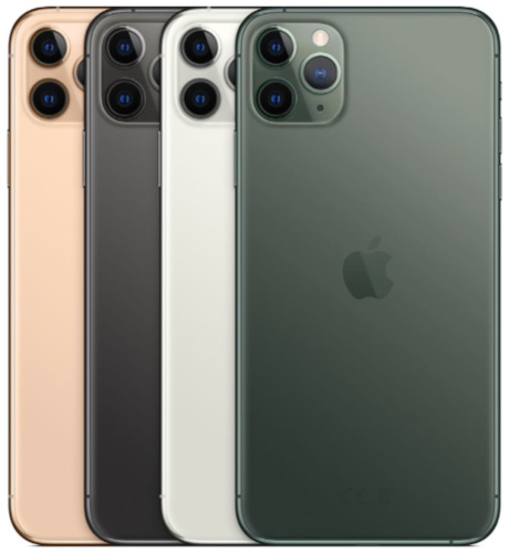 Colors of iPhone 11 Pro and Pro Max