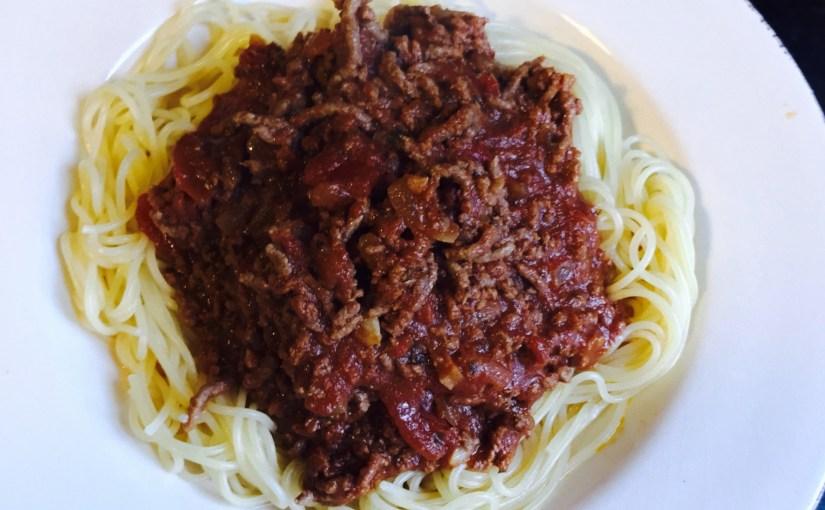 Ma version de la sauce Bolognaise