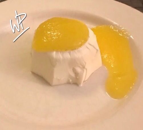 Panna Cotta et son coulis de mangue au Companion