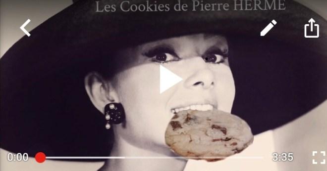 Youtube Cookies Hermé Wonderpétasse