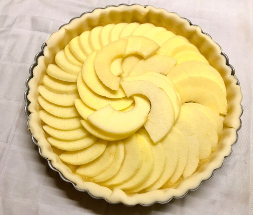 Tarte aux pommes super simple