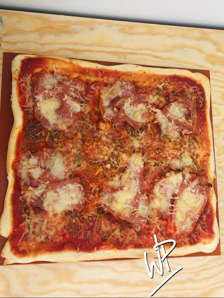 pâte à pizza inratable mortadelle wonderpetasse