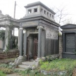 A tomb in the Old Jewish Cemetery, Zentralfriedhof