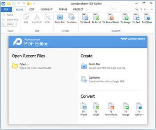 Wondershare PDF Editor Pro new