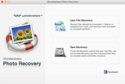 Wondershare Photo Recovery new