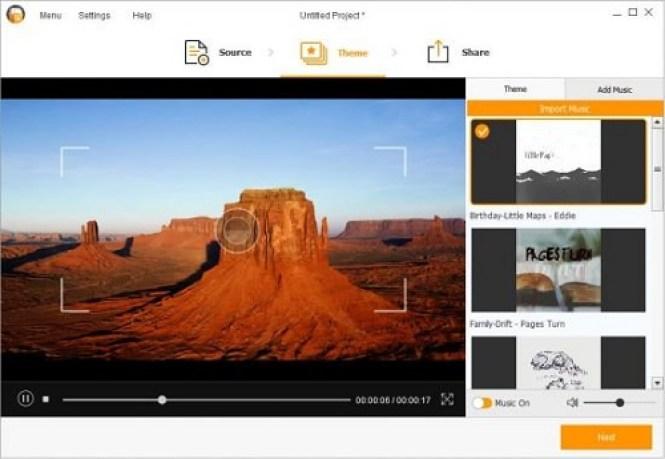 Wondershare Fotophire Slideshow Maker