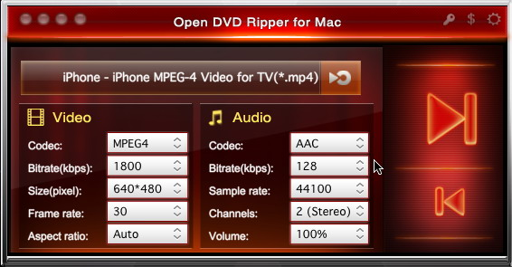 Open DVD Ripper mac